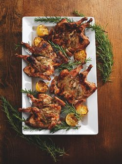 Recipes of the Week: SW Chicken Club and Tuscan Grilled Game Hens