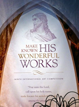 'Make Known His Wonderful Works' - Video of the LDS International Art Competition 2012