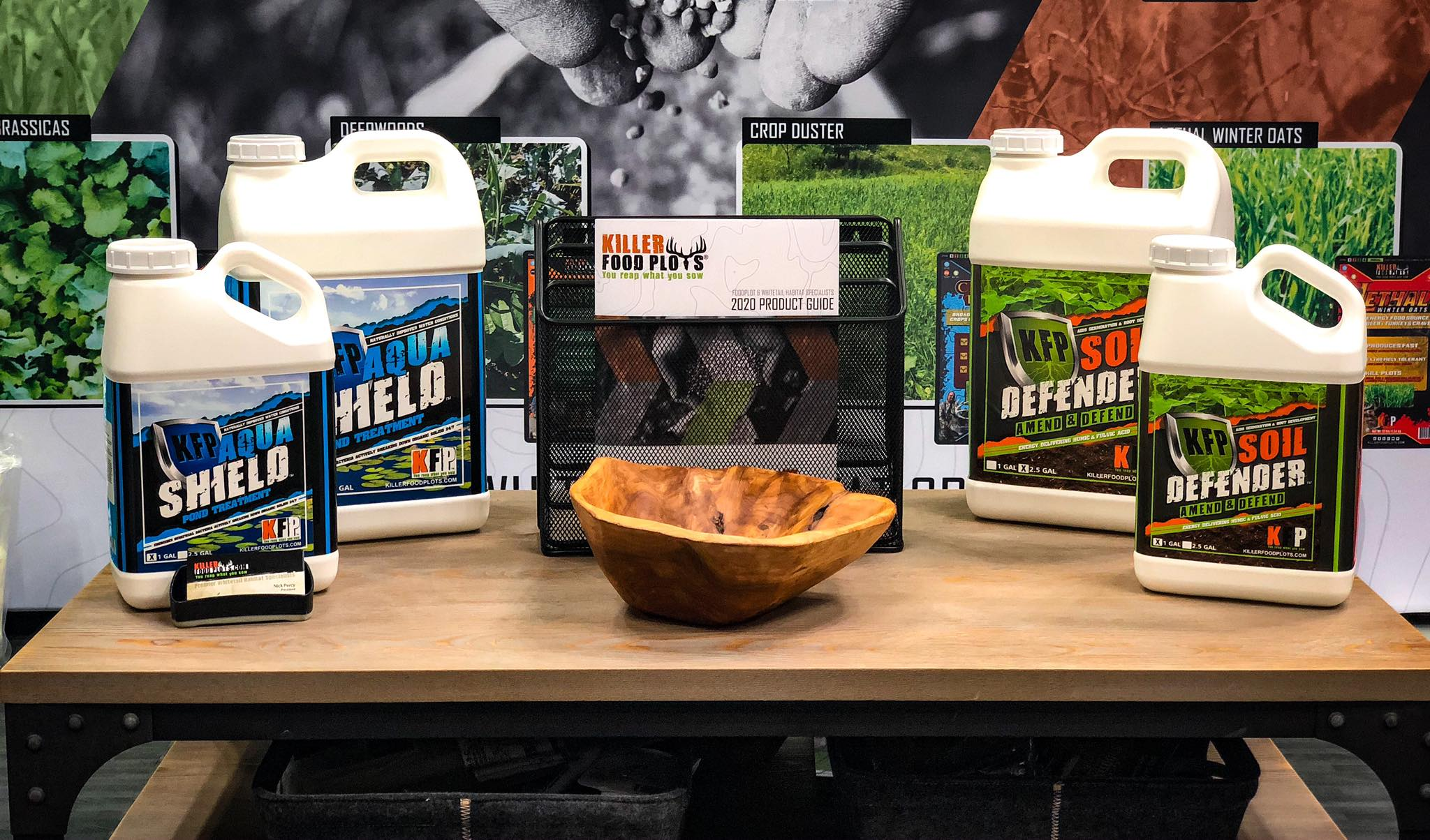 Habitat Podcast #80 - Nick Percy & Wes Baker - 2020 Drought Year, Pond Management, Soil Health, Aqua Shield & Soil Defender, Liquid Fertilizer, Rotating Food Plots, ATA Innovation Award & Taking Veterans Hunting show art