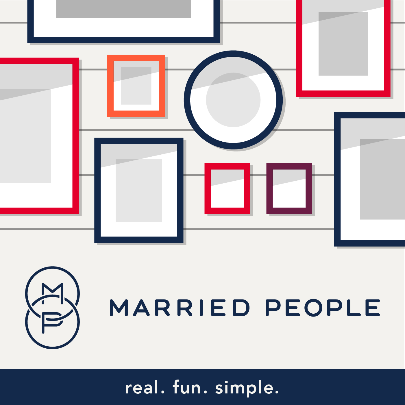 Married People Podcast show art