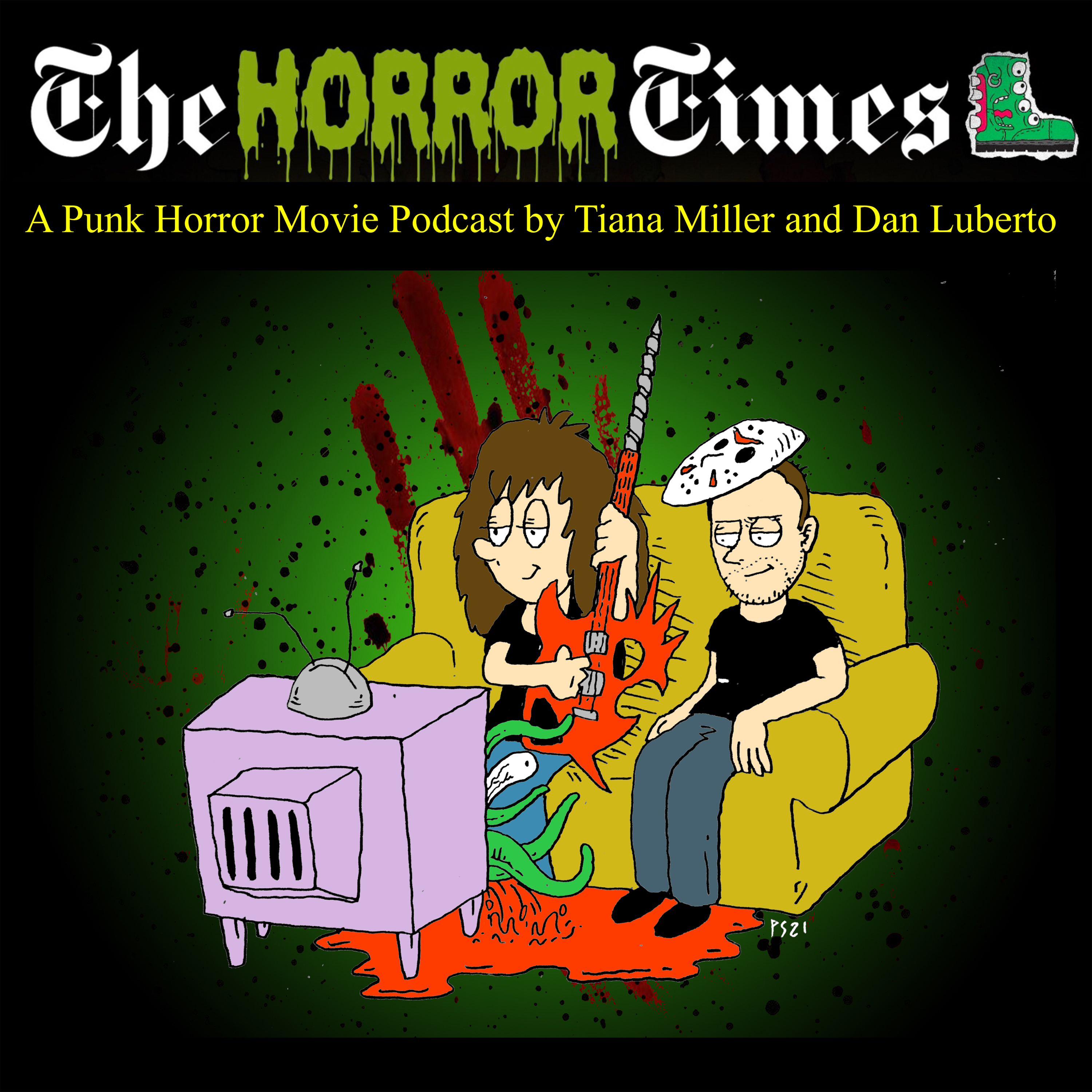 The Horror Times show art