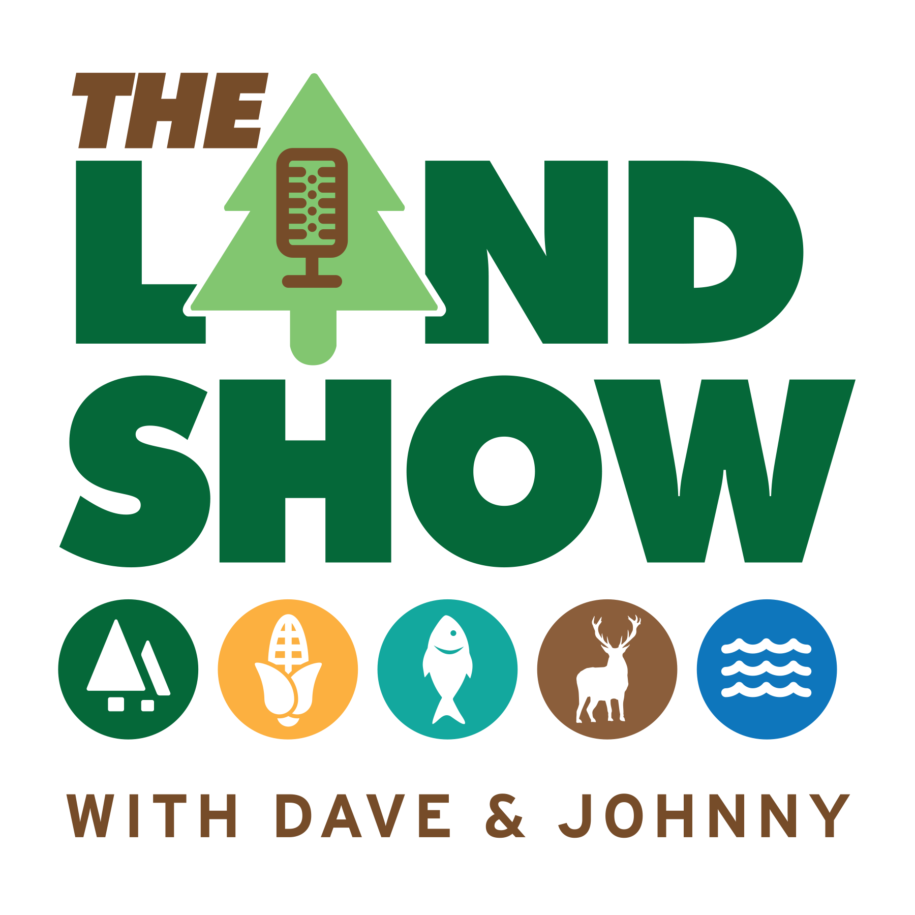The Land Show with Dave & Johnny show art