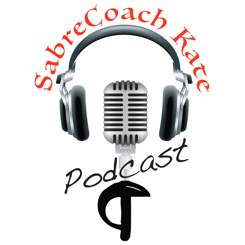 SabreCoachKate podcast show art