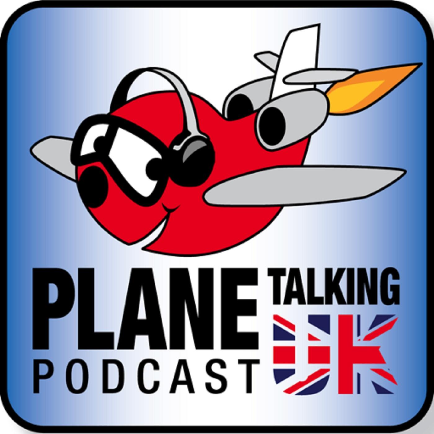 Plane Talking UK's Podcast show art