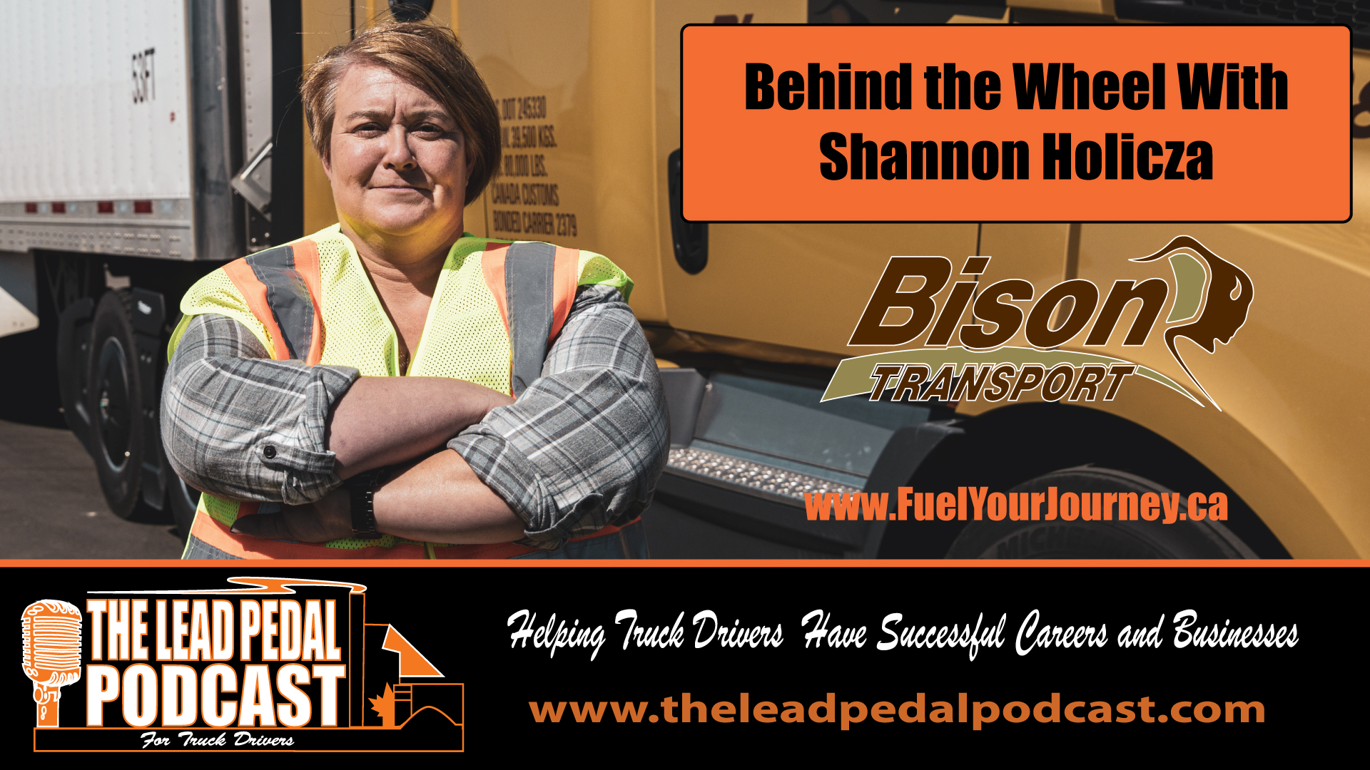A Career Behind the Wheel with Shannon Holicza