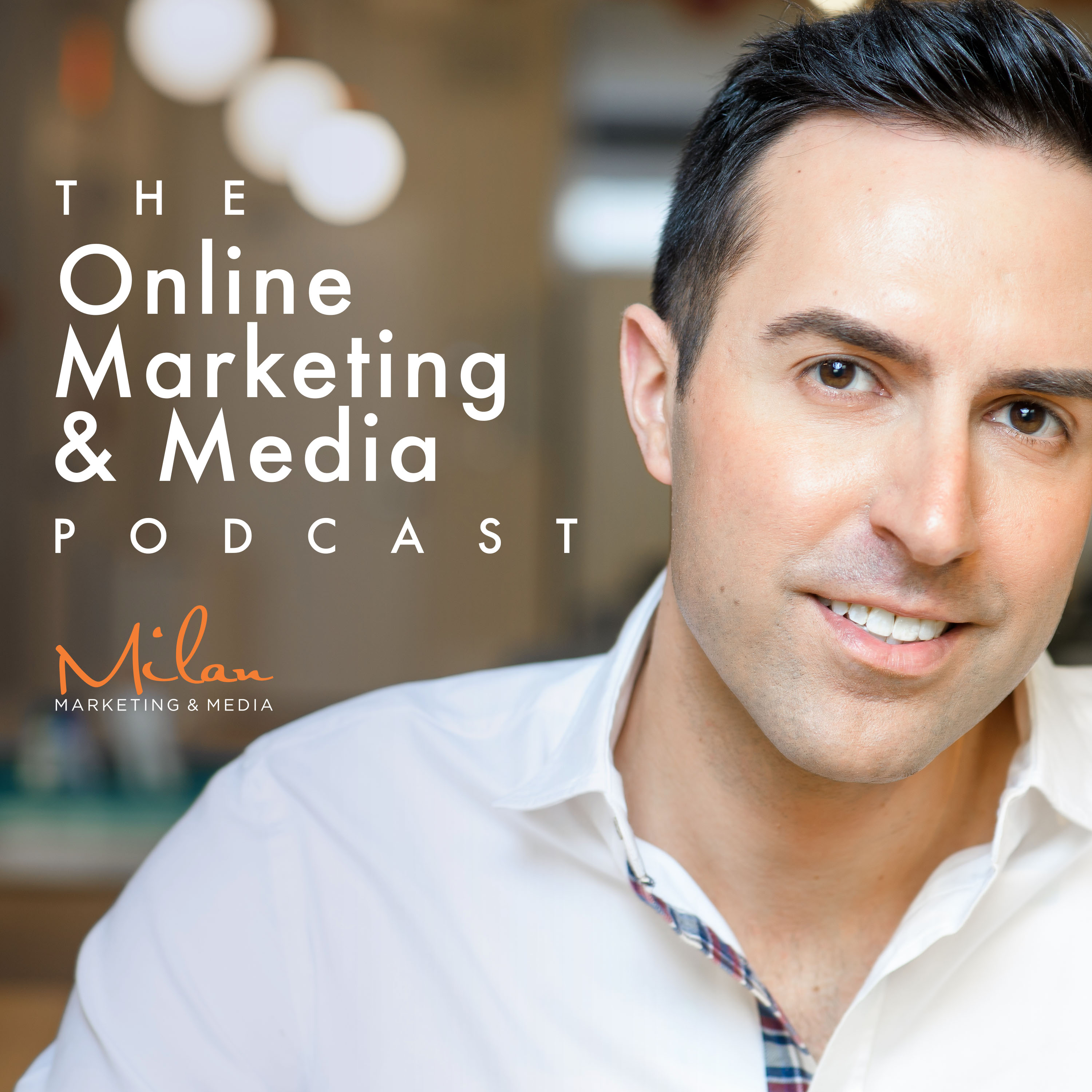 Online Marketing And Media Podcast show art