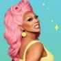 Artwork for 60. RuPaul's Drag Race: Puike Pruiken, Parmantige Pasjes en Plenty Penis Jokes