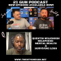 """Artwork for #58 21 Gun Live special guest Quentin """"Q"""" Wilkinson - Milspouse Mental Health and Surviving Loss"""