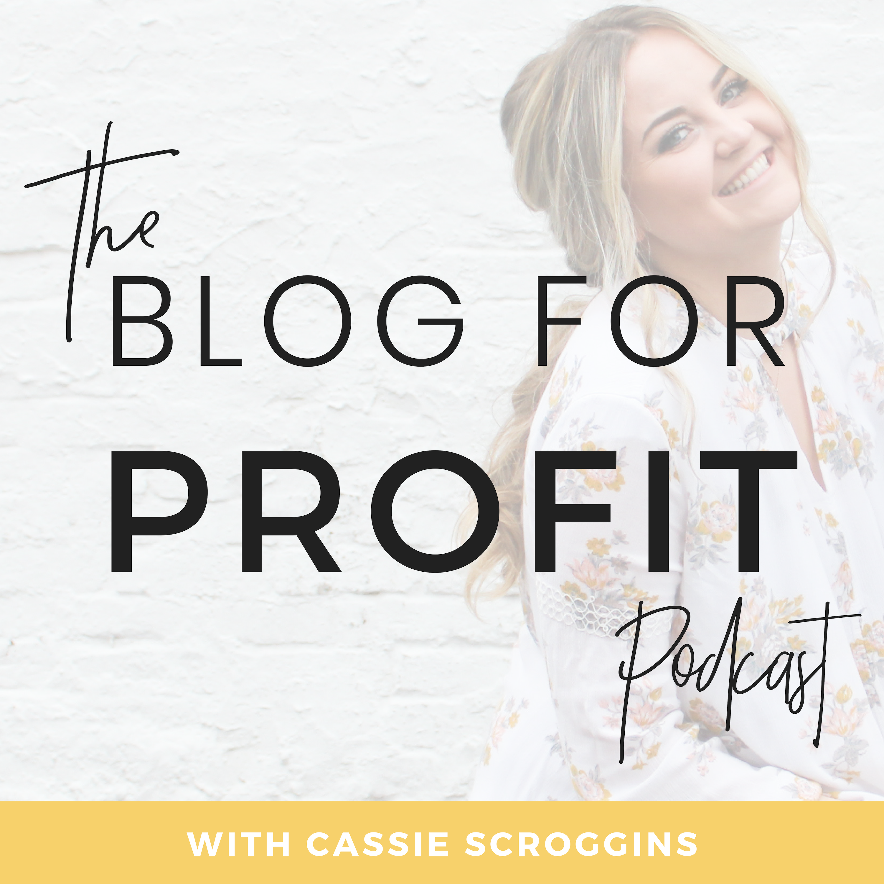 The Blog For Profit Podcast show art