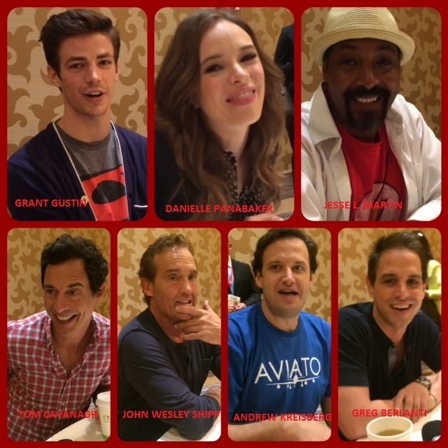 Episode 555 - SDCC: The Flash w/ Grant Gustin/Jesse L. Martin/Danielle Panabaker/John Wesley Shipp/Tom Cavanagh/Greg Berlanti/Andrew Kreisberg