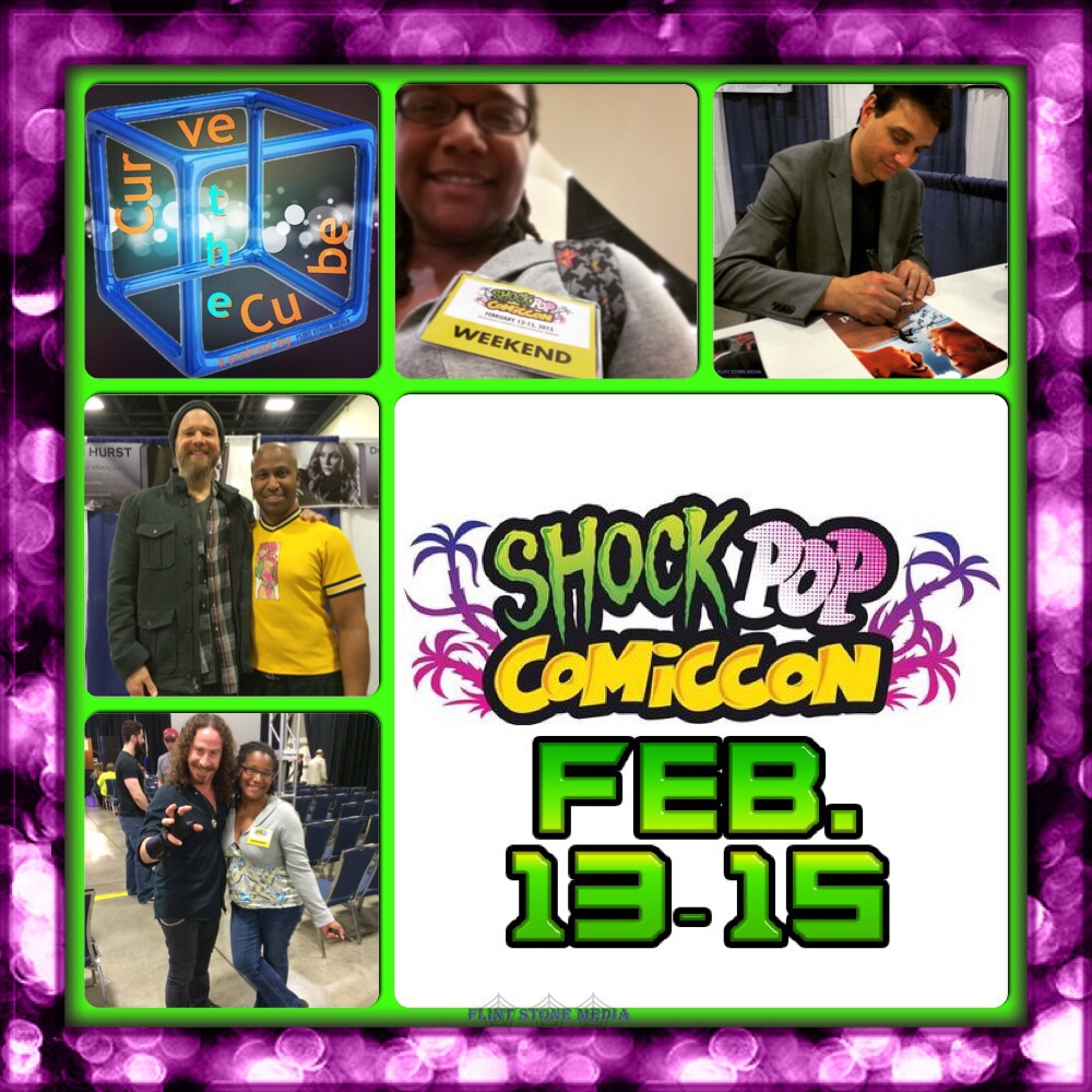Shock Pop Comic Con Block