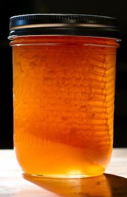 Chuck (comb) Honey