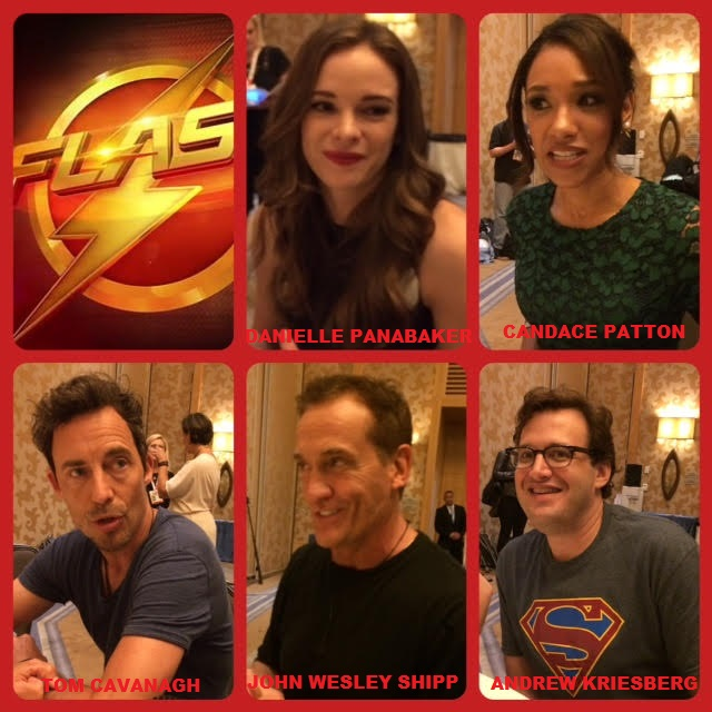 Episode 627 - SDCC: The Flash w/ Tom Cavanagh/Andrew Kriesberg/Danielle Panabaker/Candace Patton/John Wesley Shipp!