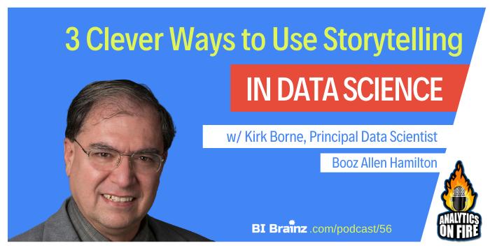 Kirk Borne Analytics on Fire Podcast Artwork