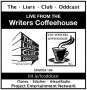 Artwork for The Liars Club Oddcast # 106 | Live from The Writers' Coffeehouse