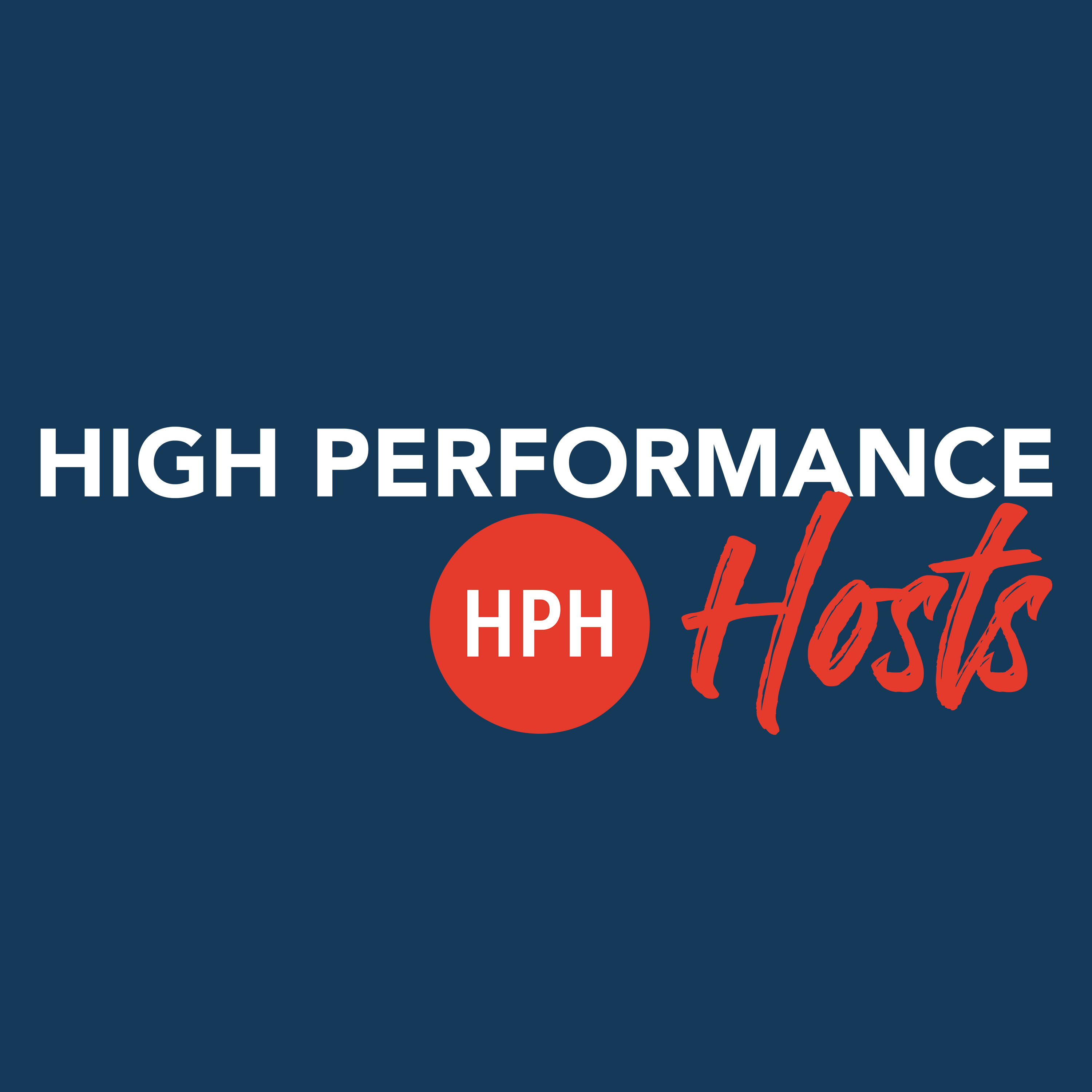 The High Performance Hosts Podcast show art