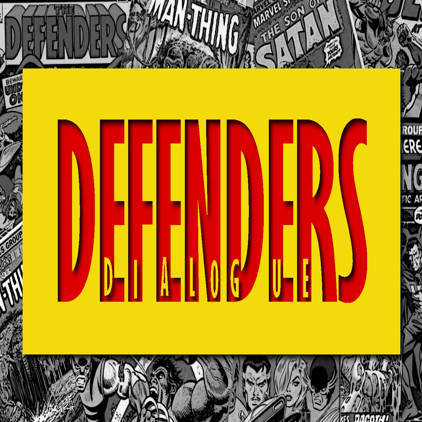 Artwork for Defenders Dialogue Issue #016:  WHO IS THE COSMIC MUFFIN?
