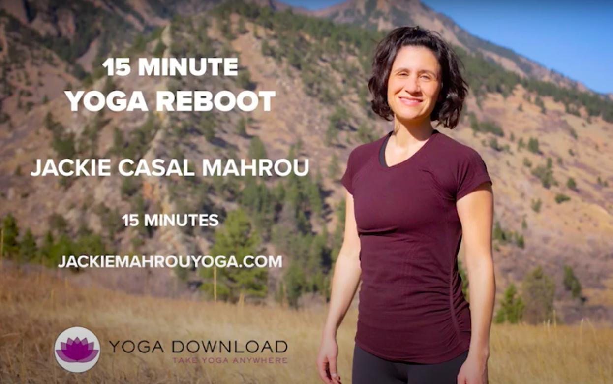 Episode 151: 15-Minute Yoga Reboot