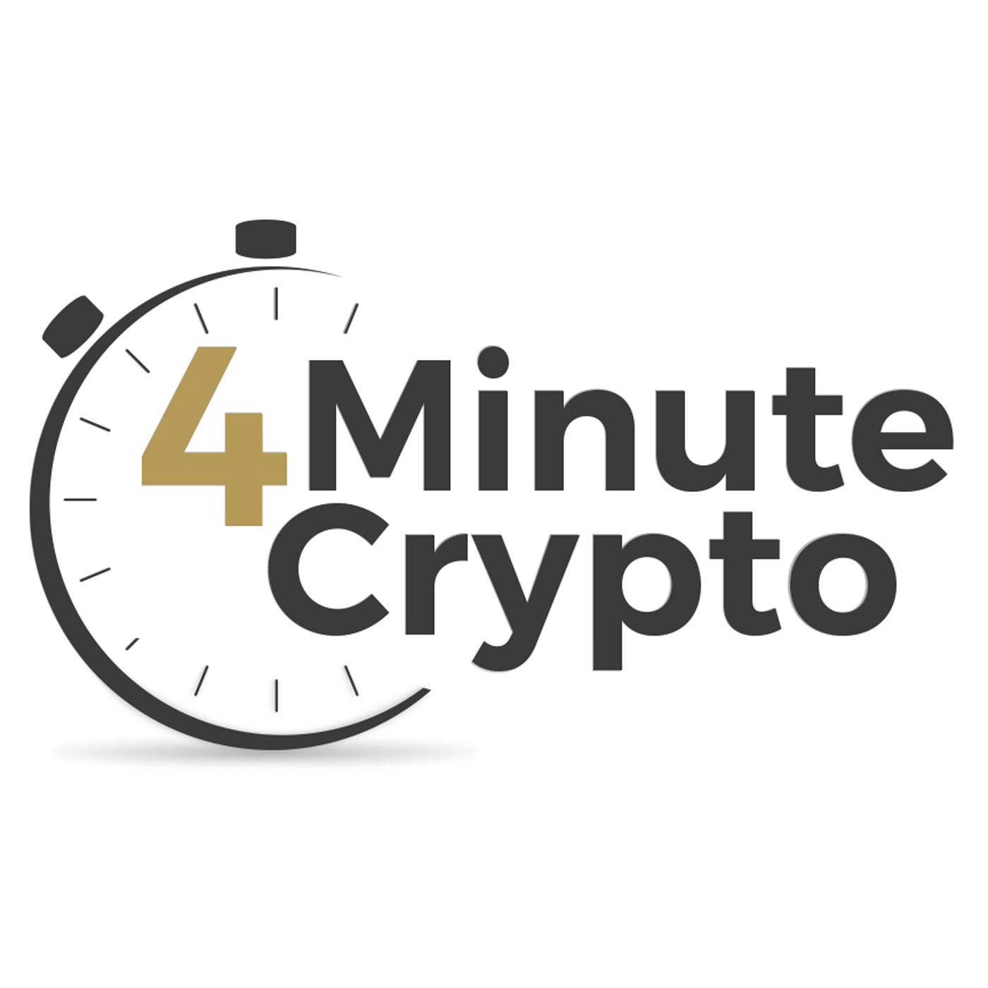 4 Minute Crypto And Bitcoin Daily News show art