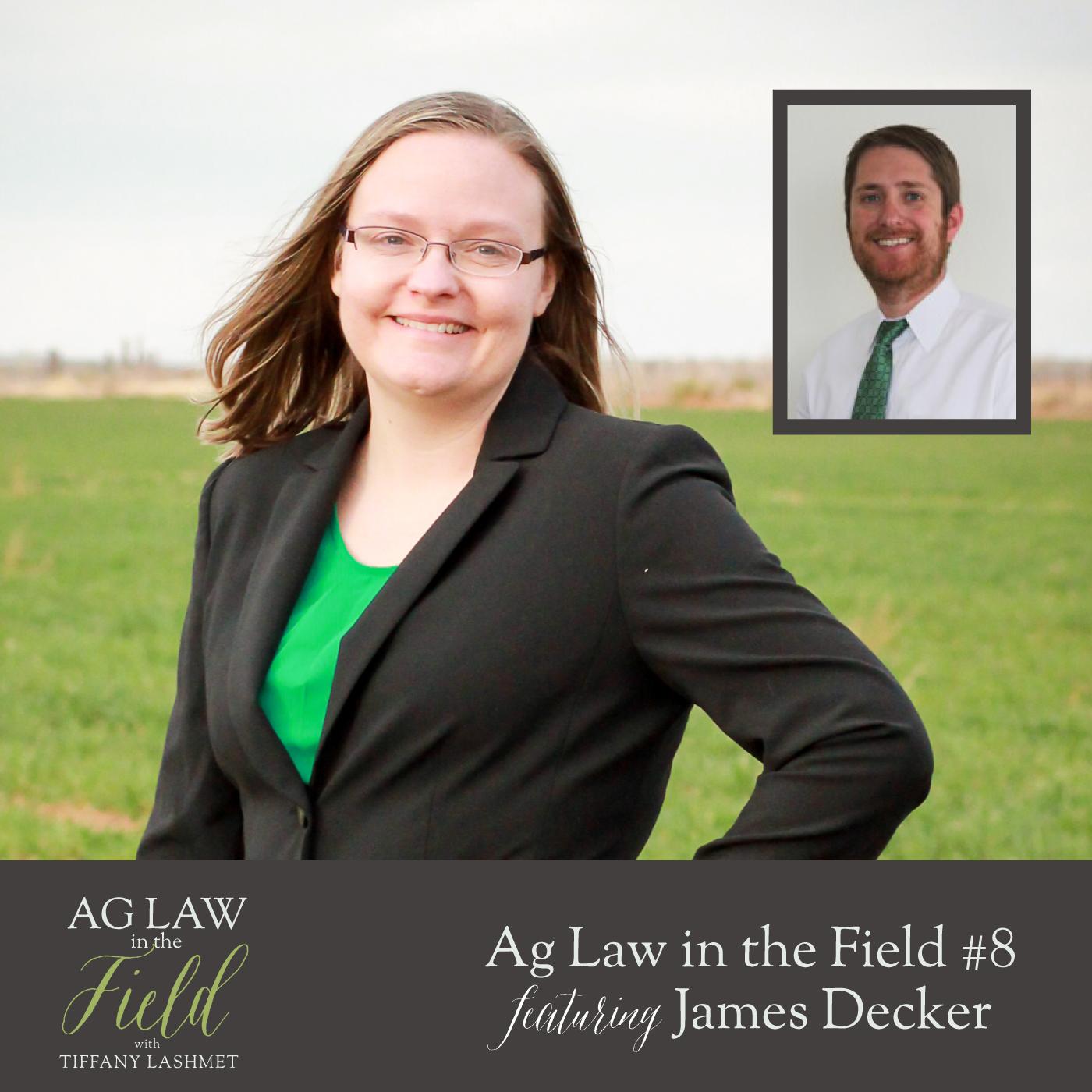 Artwork for Episode #8 - James Decker (Settling Estates: Probate & Alternatives to Probate)