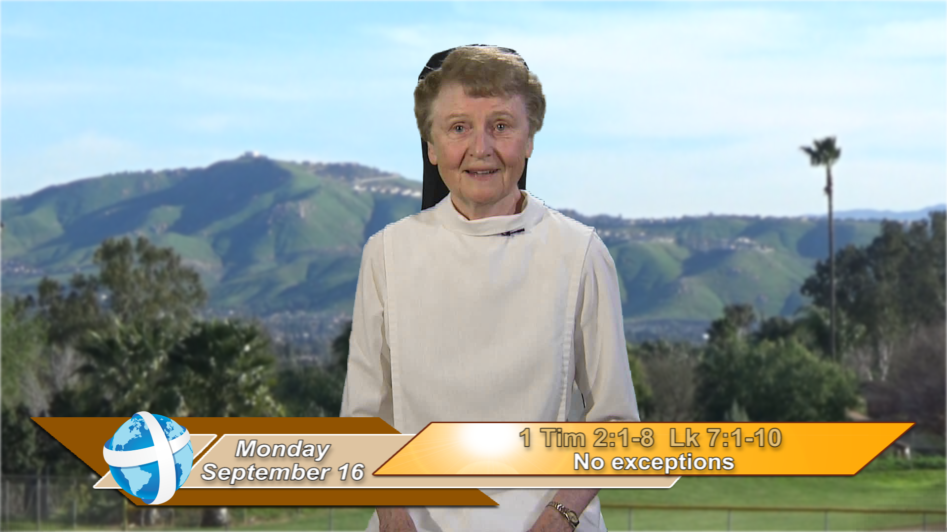 Artwork for iGod Today with Sr. Jeanne Harris, OP;   Today's topic: No exceptions