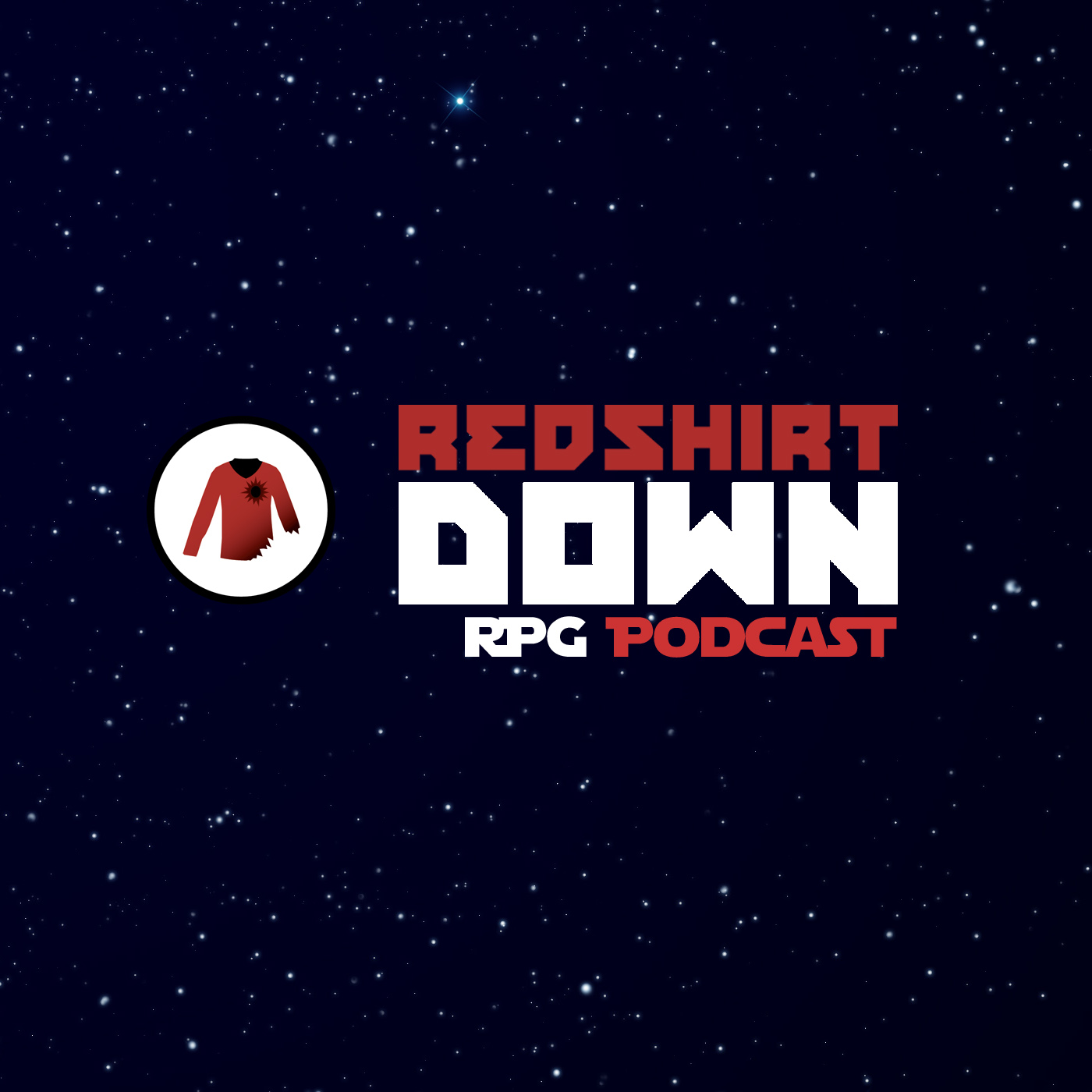 Red Shirt Down RPG Podcast show art