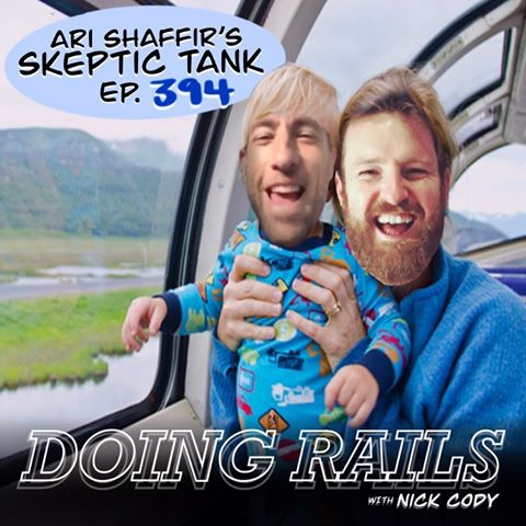 394: Doing Rails (w/ Nick Cody) (nick cody virus train o&a portland australia myanmar shah shan state food poisoning toilet quarantine hotel bill burr 7 more minutes philly rant mid-flight brawl heggie luke