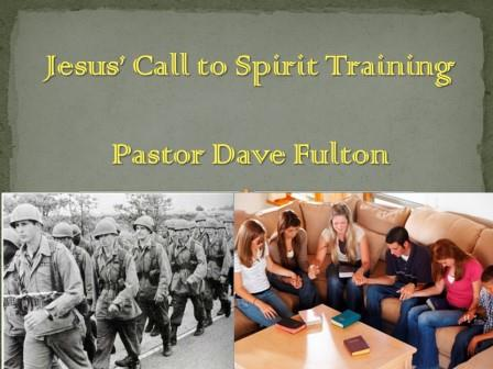 Jesus' Call to Spirit Training
