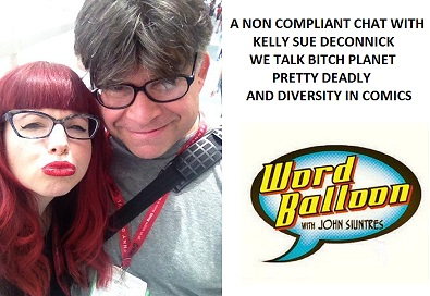 Kelly Sue DeConnick A Non Compliant Conversation about Bitch Planet Pretty Deadly and More