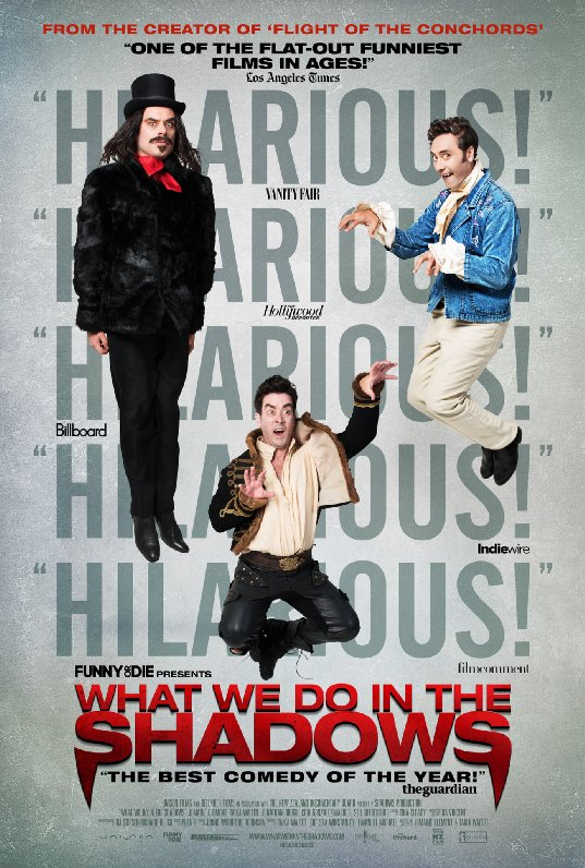 Ep. 139 - What We Do in the Shadows (Vampire's Kiss vs. Dark Shadows)