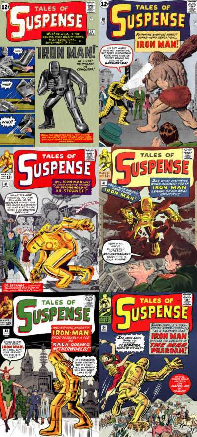 Komicskast - #91 - Iron Man - Tales of Suspense 39 - 44