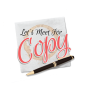 Artwork for Let's Meet For Copy ® Intro Episode