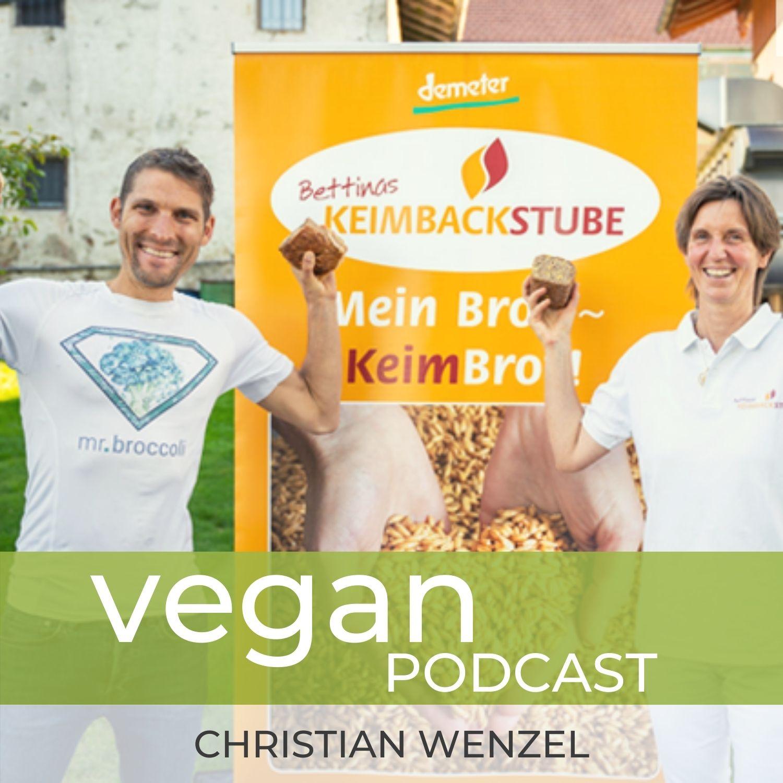 Glutenfreie vegane Ernährung & Glutenfreies Brot. Mit Bettina Edmeier #727