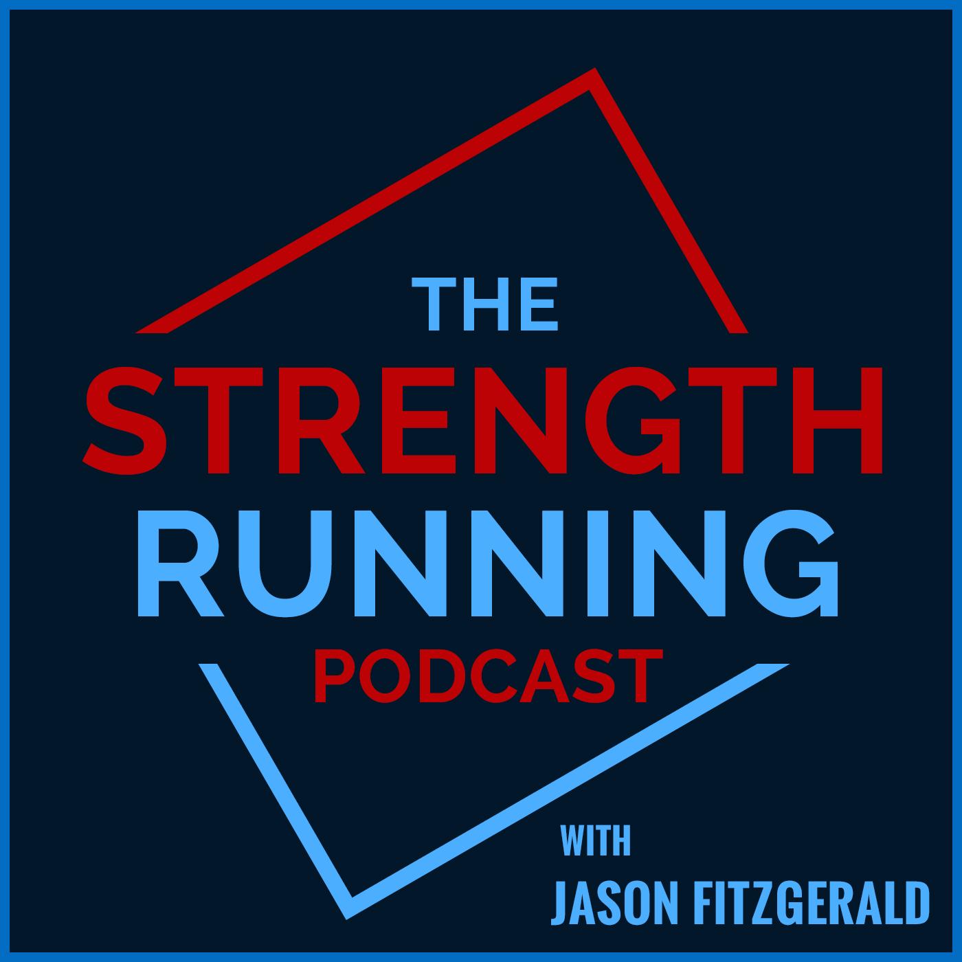 The Strength Running Podcast show art