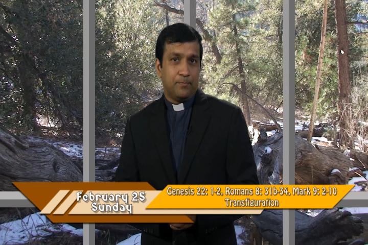 Artwork for iGod Today with Fr. Biju Thomas, SVD; Today's topic:  Transfiguration