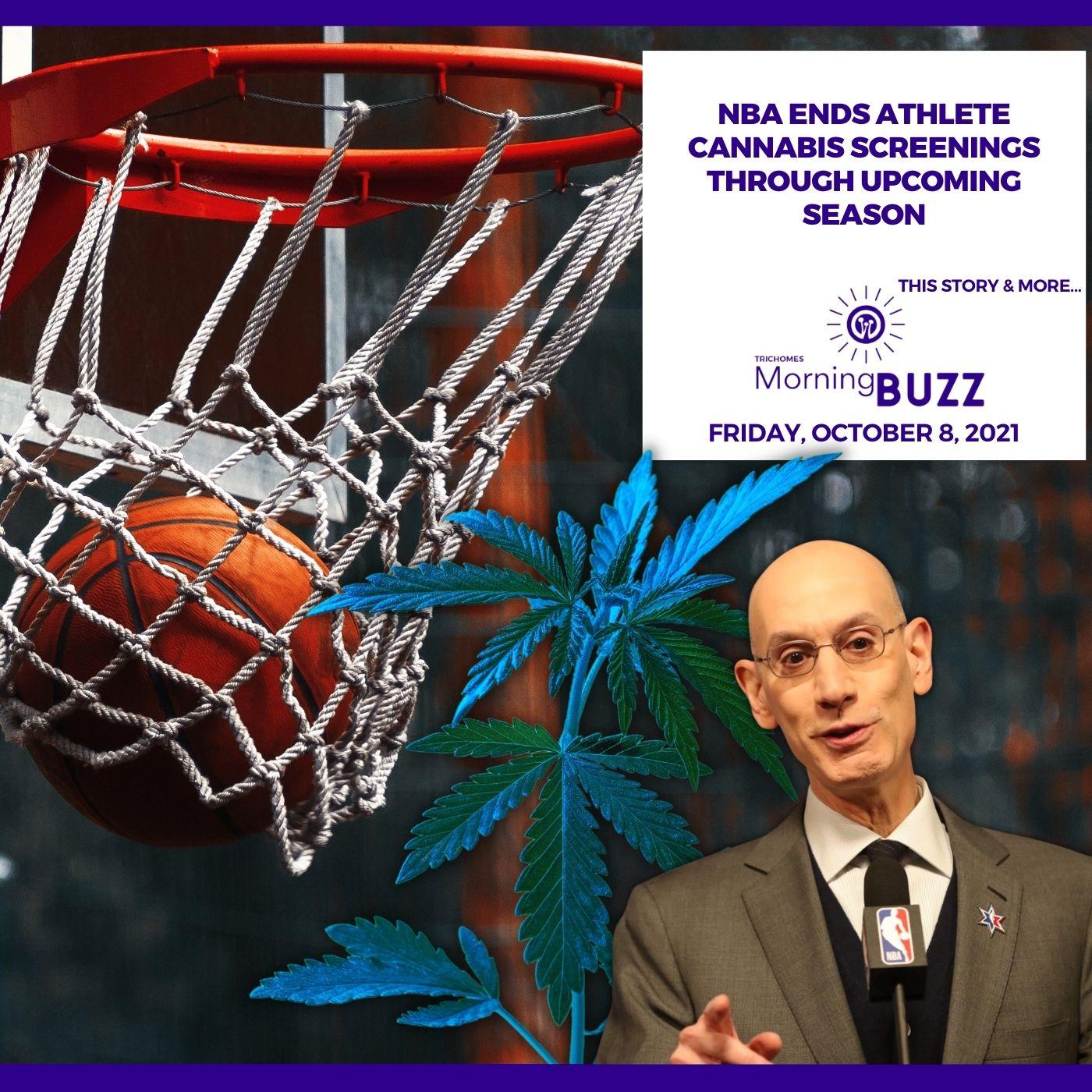 NBA Ends Athlete Cannabis Screenings Through Upcoming Season show art