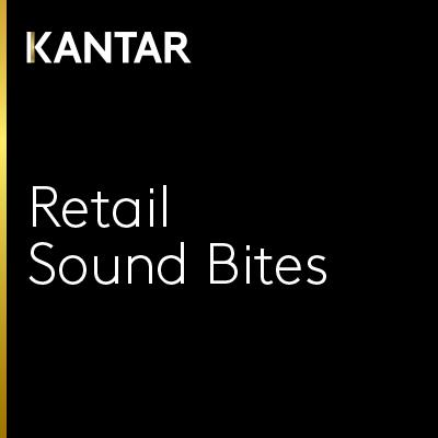Retail Sound Bites from Kantar show art