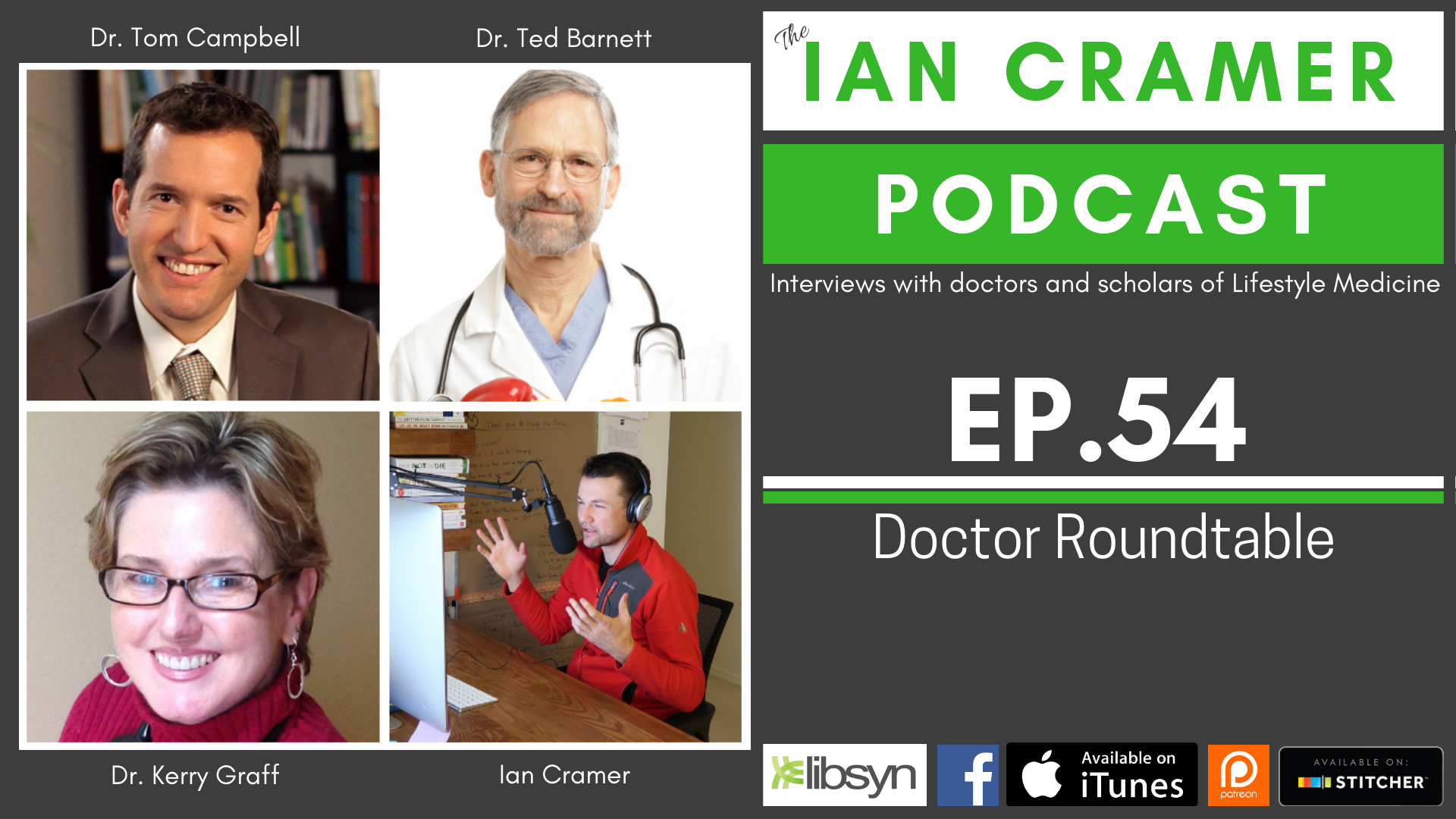 Round Table Podcast.The Ian Cramer Podcast Icp 54 Doctor Roundtable Kidney Disease