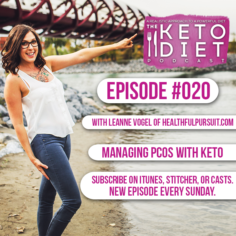 #020 Managing PCOS with Keto with Chris Joseph