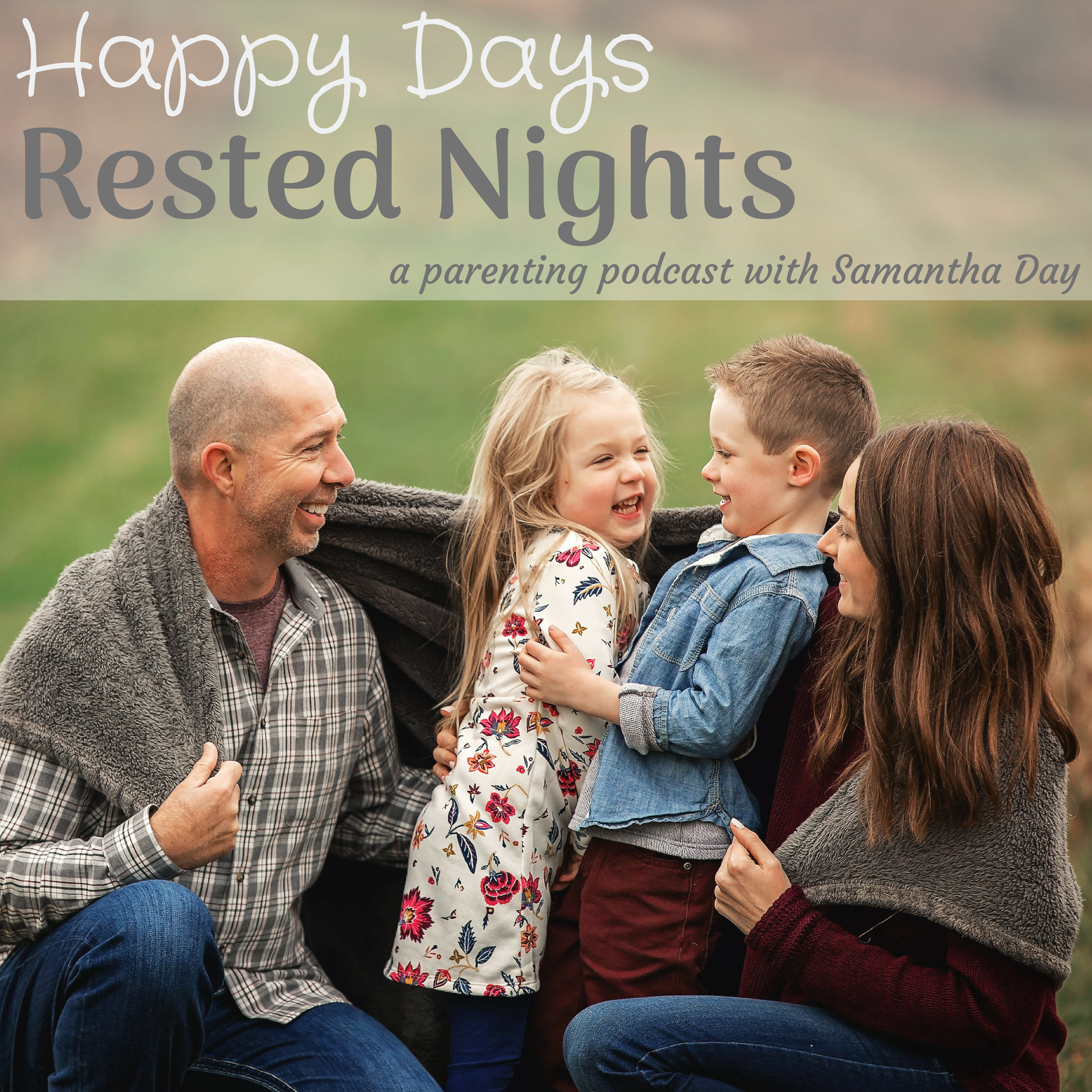 Happy Days Rested Nights show art