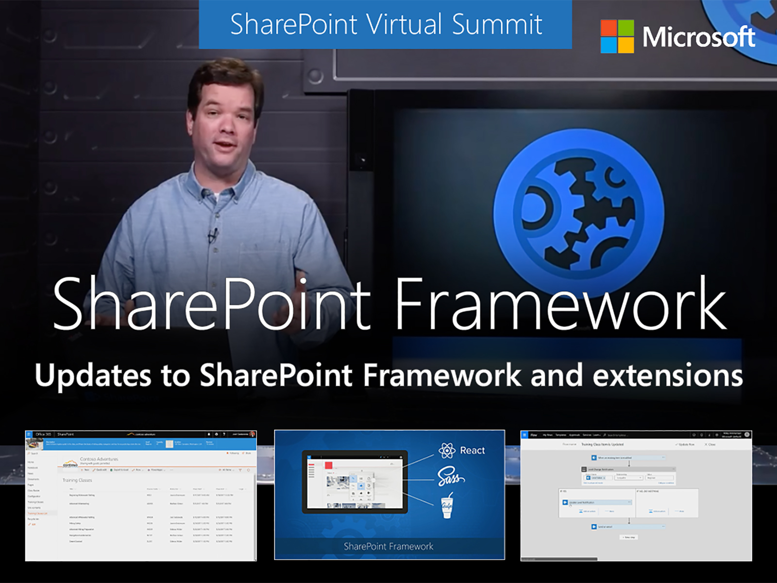 Artwork for Updates to the SharePoint Framework with SharePoint Framework extensions