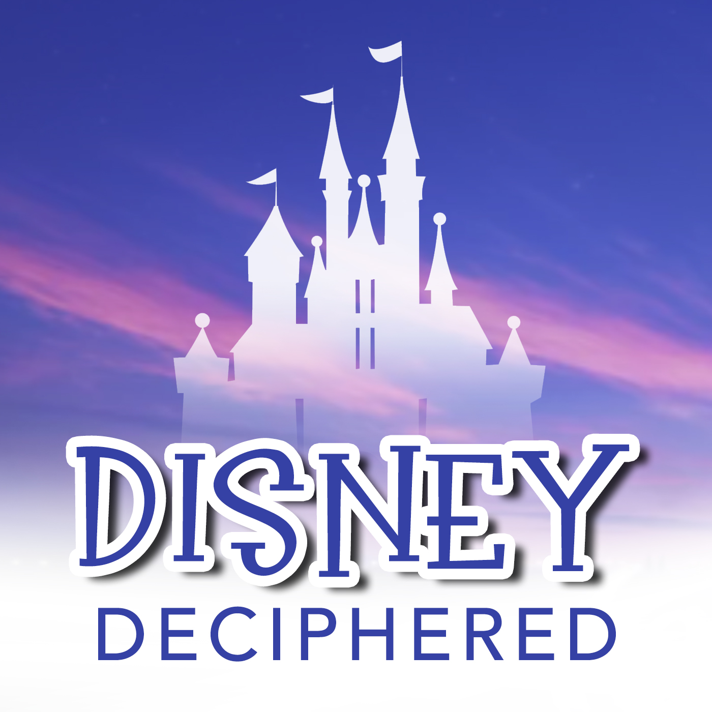 Disney Deciphered: a Disney World planning podcast show art