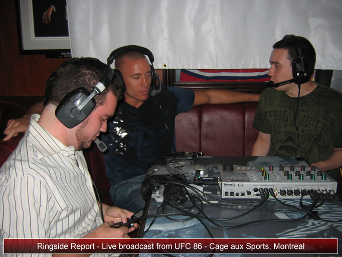 Ringside Report Radio. October 9, 2009.