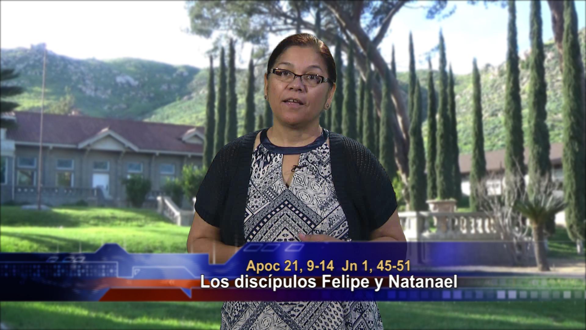 Artwork for Dios te Habla con Angela Valencia;  Tema el hoy: Los discípulos Felipe y Natanael