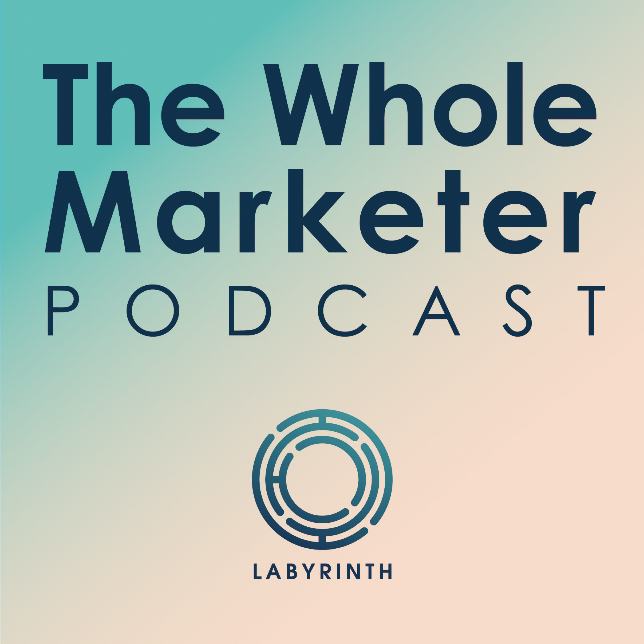 The Whole Marketer podcast show art
