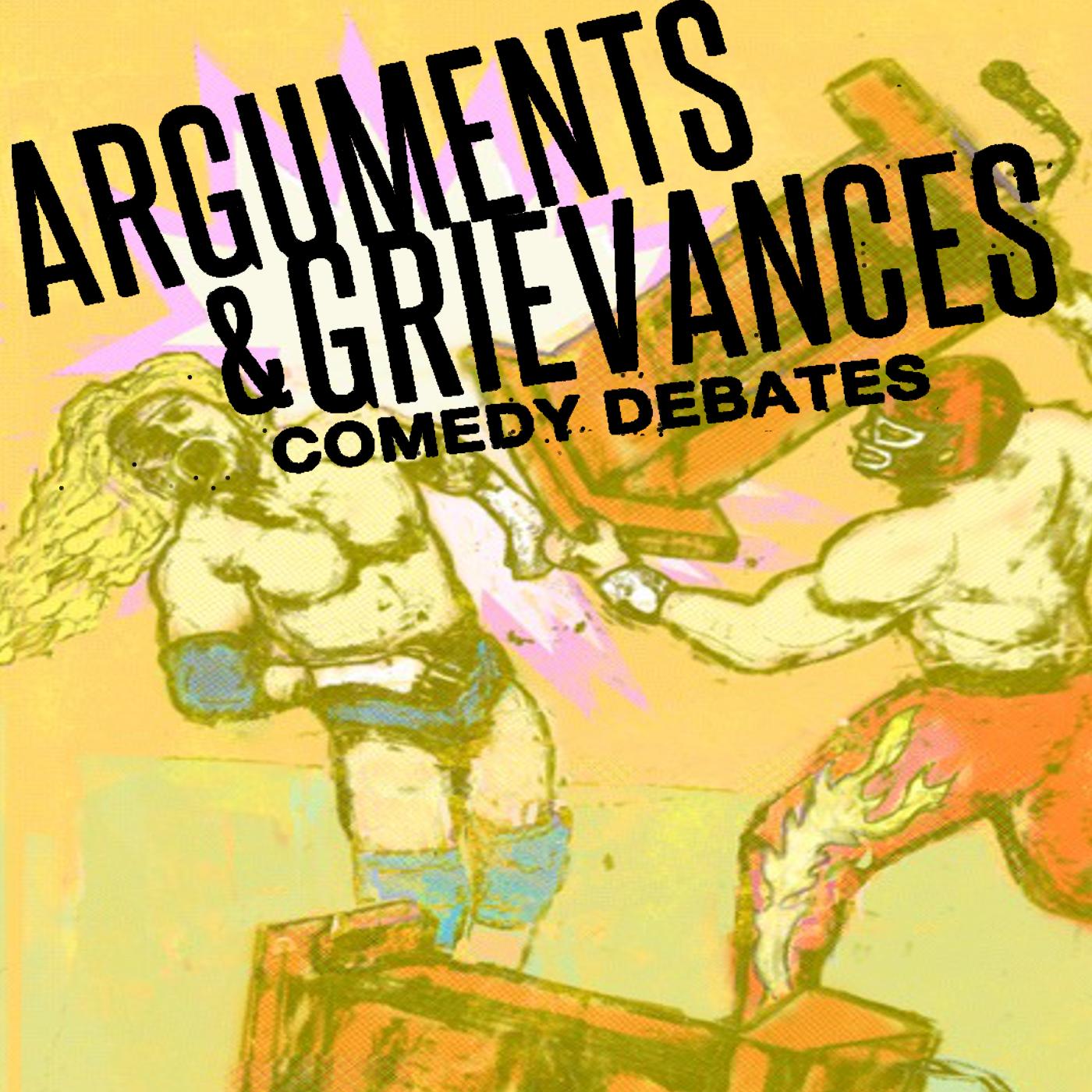 Arguments & Grievances  logo