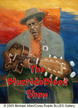 The BluzNdaBlood Show #140, Blues Without Borders, Part 3