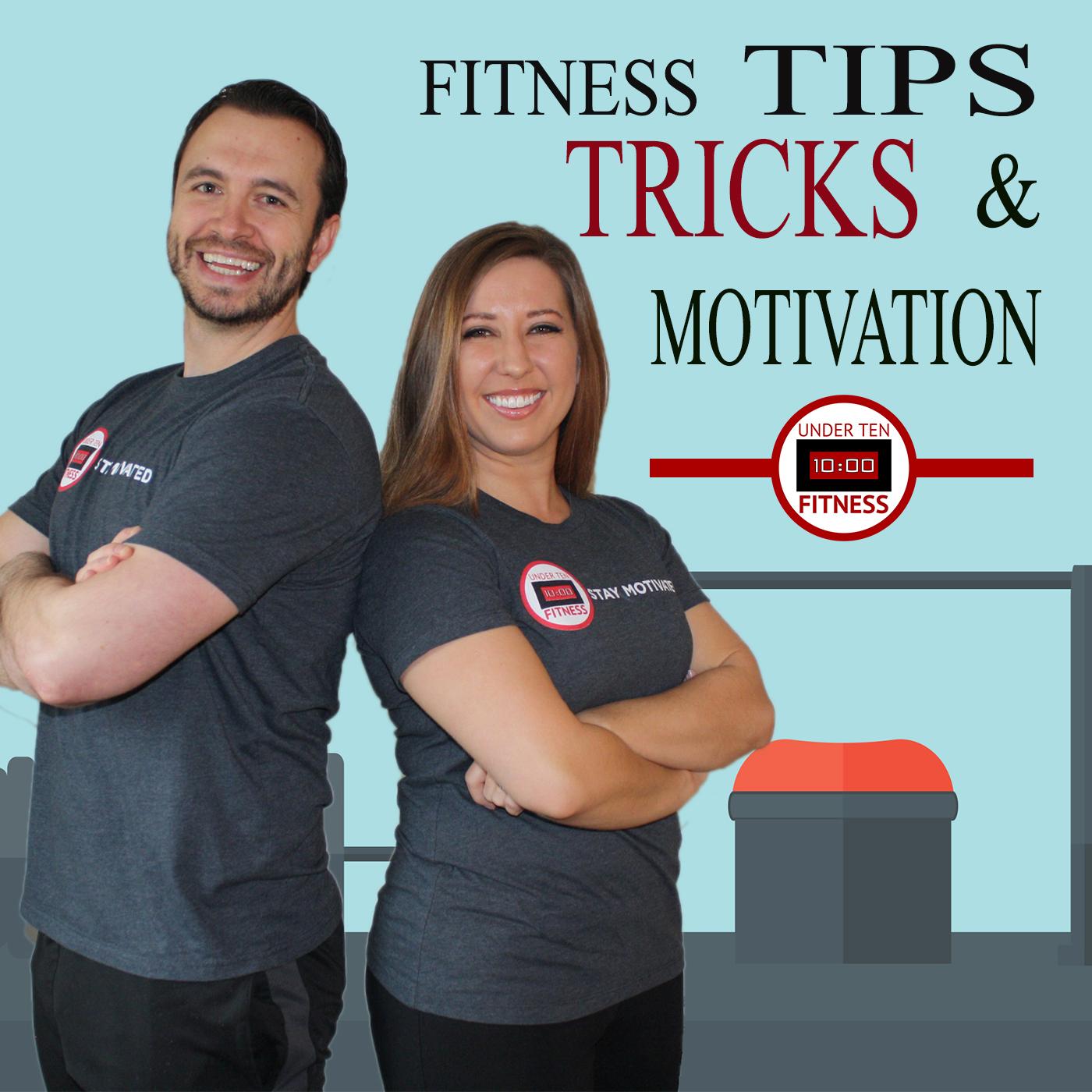 Under Ten Fitness Talk Show show art