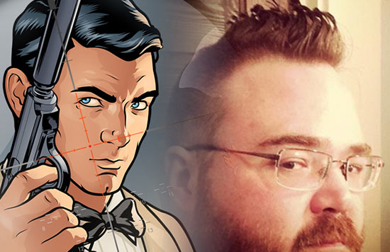 Kevin Mellon, Storyboard Artist for Archer, and Comic Book Writer/Illustrator