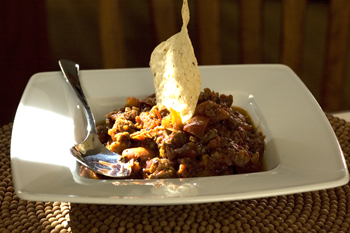 Meaty Red Bean Chili